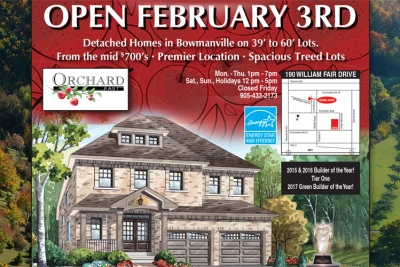 Orchard East Open Feb 3